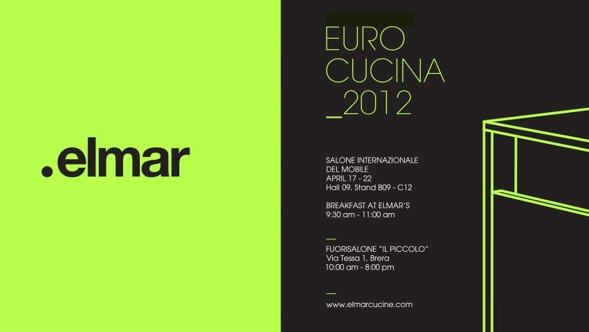 Elmar News Eurocucina 2012